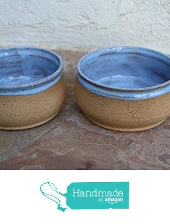 Soup Bowl Set Handmade Blue Ceramic Serving Dish Rice Or Salad Bowls Rustic Modern  Kitchen Pottery