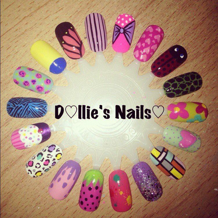 Dolliesnails Natural Nail Designs Nail Art Wheel Nail Designs