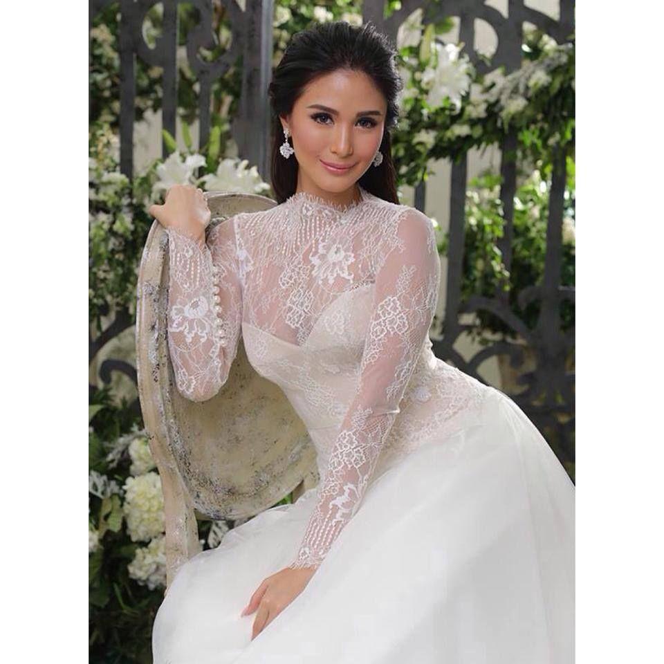 veluz bride Google Search Heart evangelista wedding