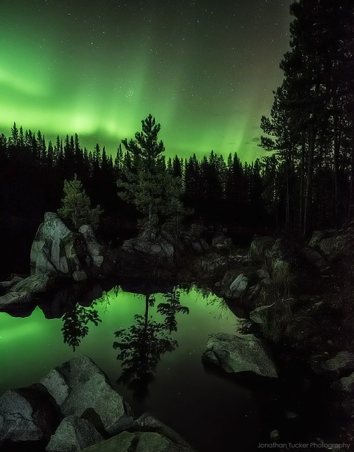 Cold Yukon night by Jonathan Tucker on 500px