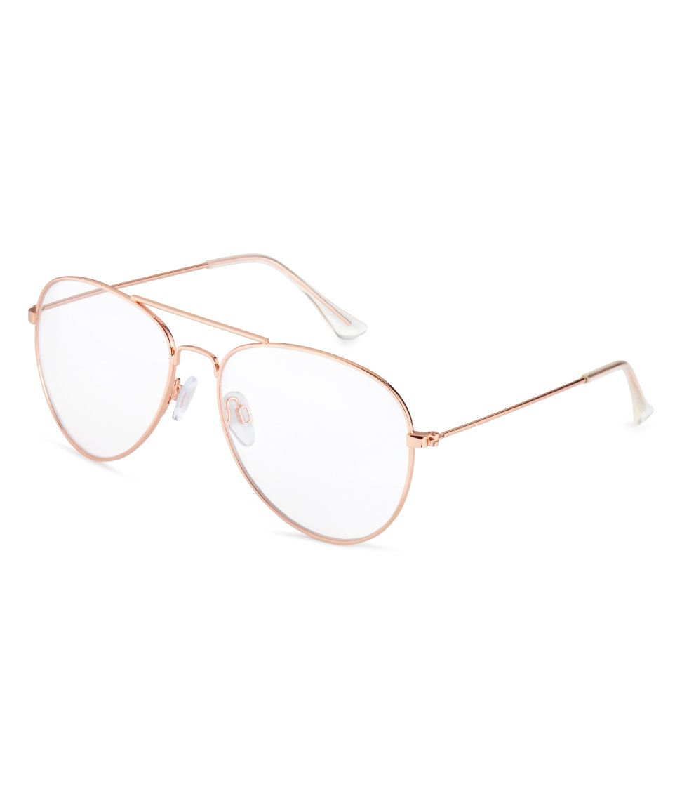 187e62adf0 Gafas | Rose gold-coloured | MUJER | H&M MX | LENTES in 2019 | Lentes