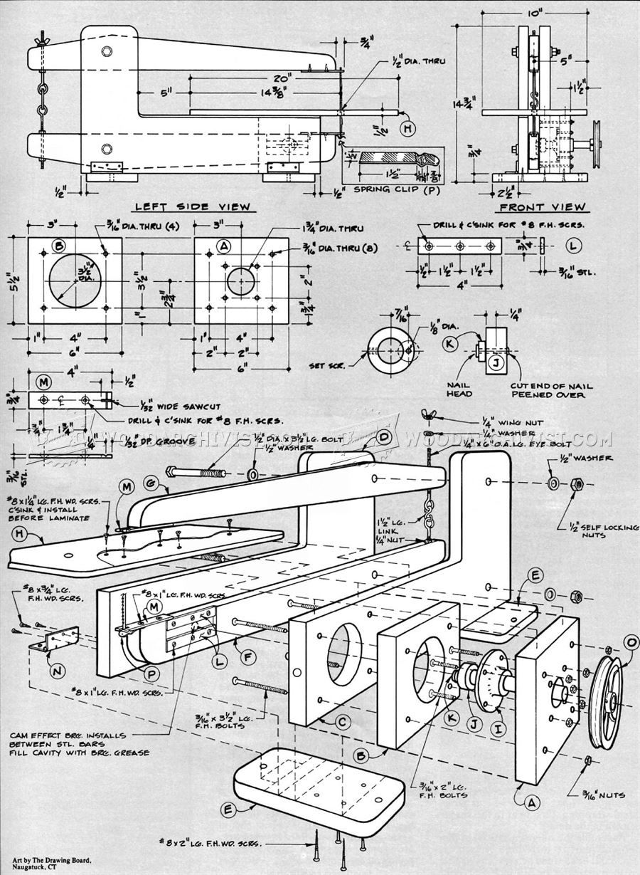 Homemade Scroll Saw Plans In 2018 Pinterest Diagram