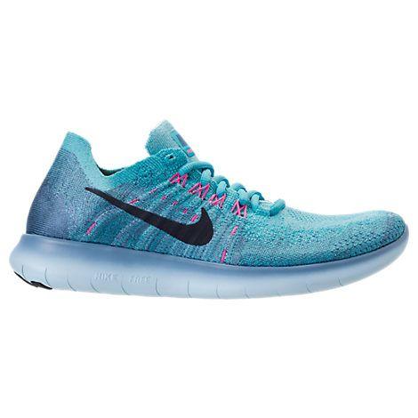 3afad29a198 Women s Nike Free RN Flyknit 2017 Running Shoes - 880844 880844-400 ...