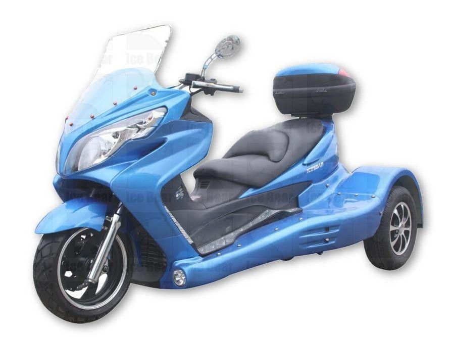 300cc Zodiac Wrx Trike W Automatic Transmission Reverse And Hydraulic Disc Brakes