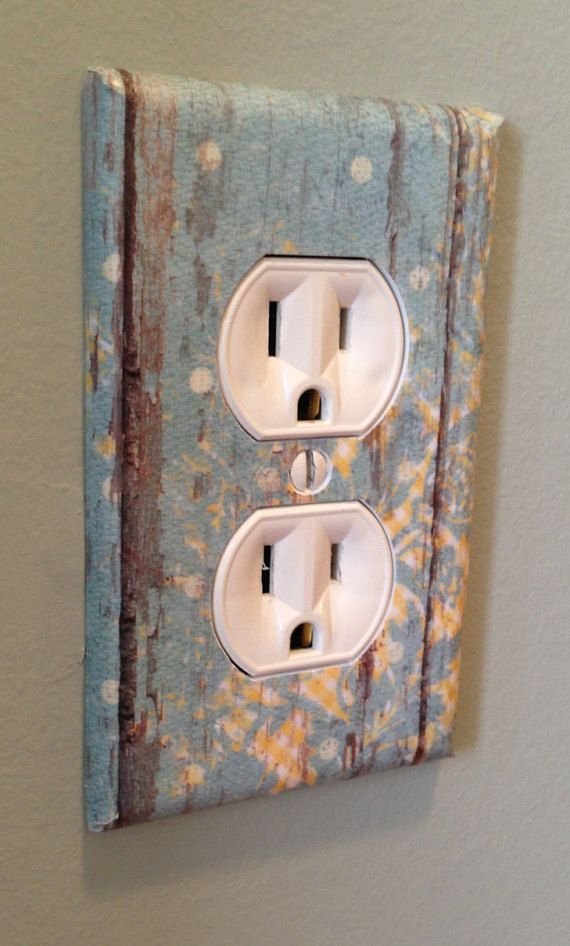 4 Decorative Light Switch And Wall Outlet Covers by IvybrookCourt ...