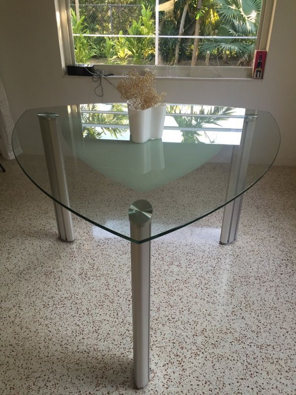 Onyx Metal Counter Height Table In Miami FL Sells For 80