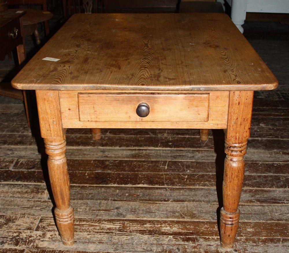 Victorian Pine Kitchen Table Antique Kitchen Tables Pine Kitchen