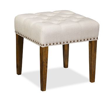 ... lorraine tufted stool potterybarn in lieu of a desk chair this slides right under ...  sc 1 st  Helen Mirren & Desk Stool Brilliant Computer Desk Stool 146 Best Images About ... islam-shia.org