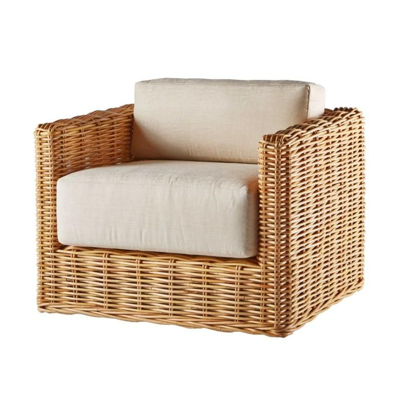 Kubu Lounge Chair Outdoor Wicker Furniture Rattan Lounge Chair Furniture