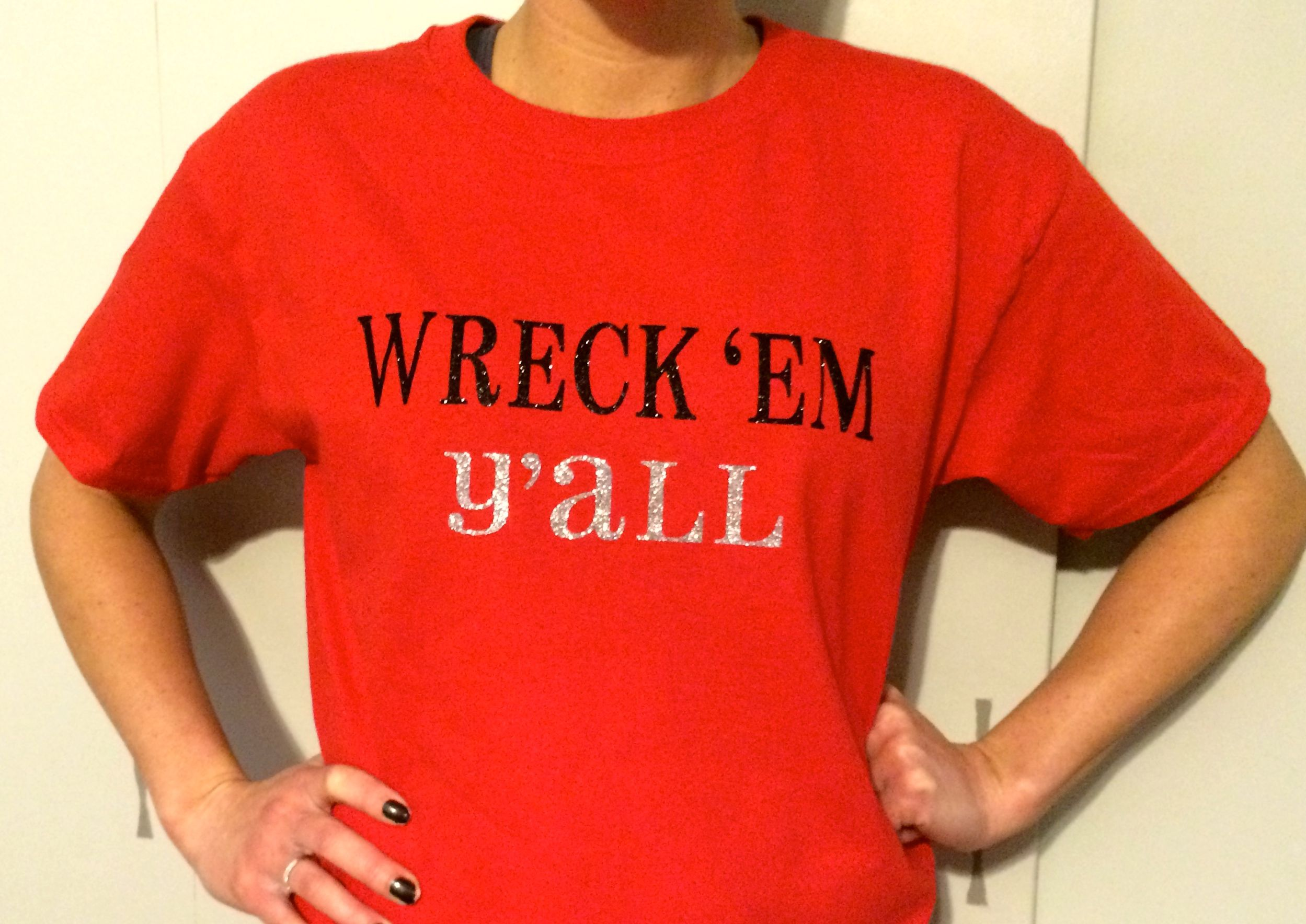 Diy ironon vinyl shirts using the cricut expression