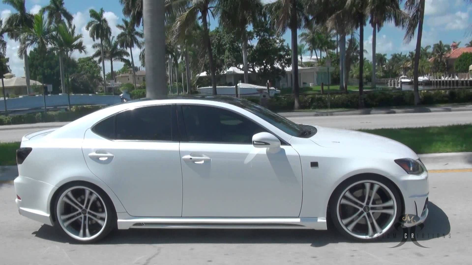 Jm custom creations project car the lexus is 350 f sport around south florida