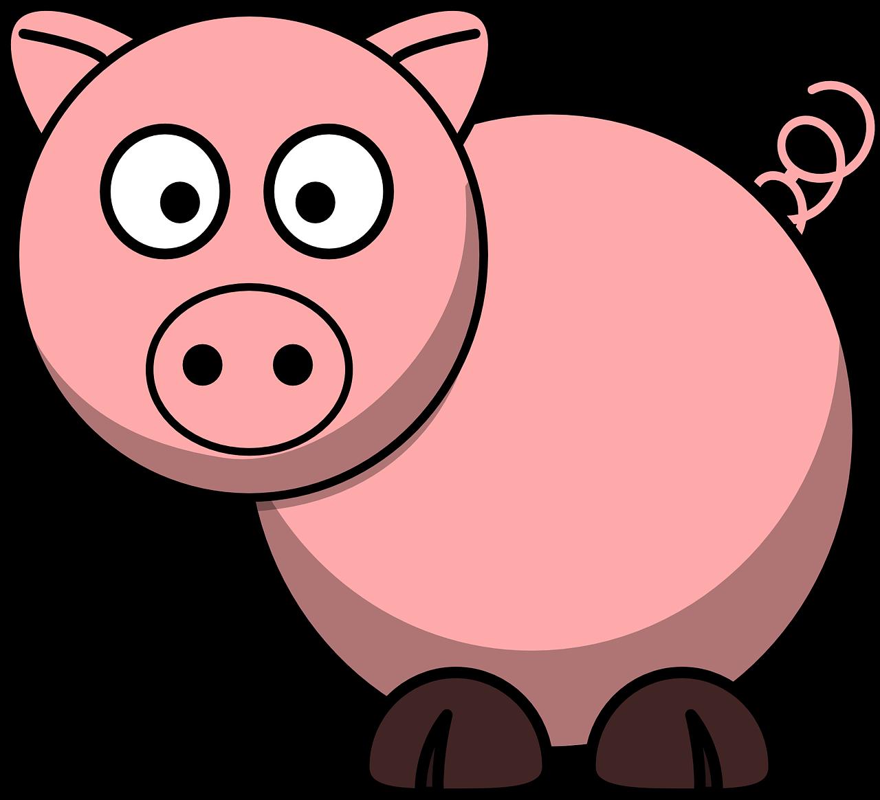 Imagen Gratis En Pixabay Cerdo Animales Granja Cola Cerdo Animal Cerdos Animados Animales