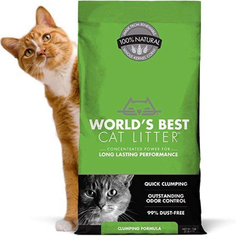 World S Best Cat Litter Original Series 14 Lb Bag Outstanding Odor Control Quick Clump Best Cat Litter Best Clumping Cat Litter Clumping Cat Litter