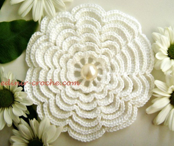 crochet tutorials crocheted flowers beautiful crochet irish crochet ...