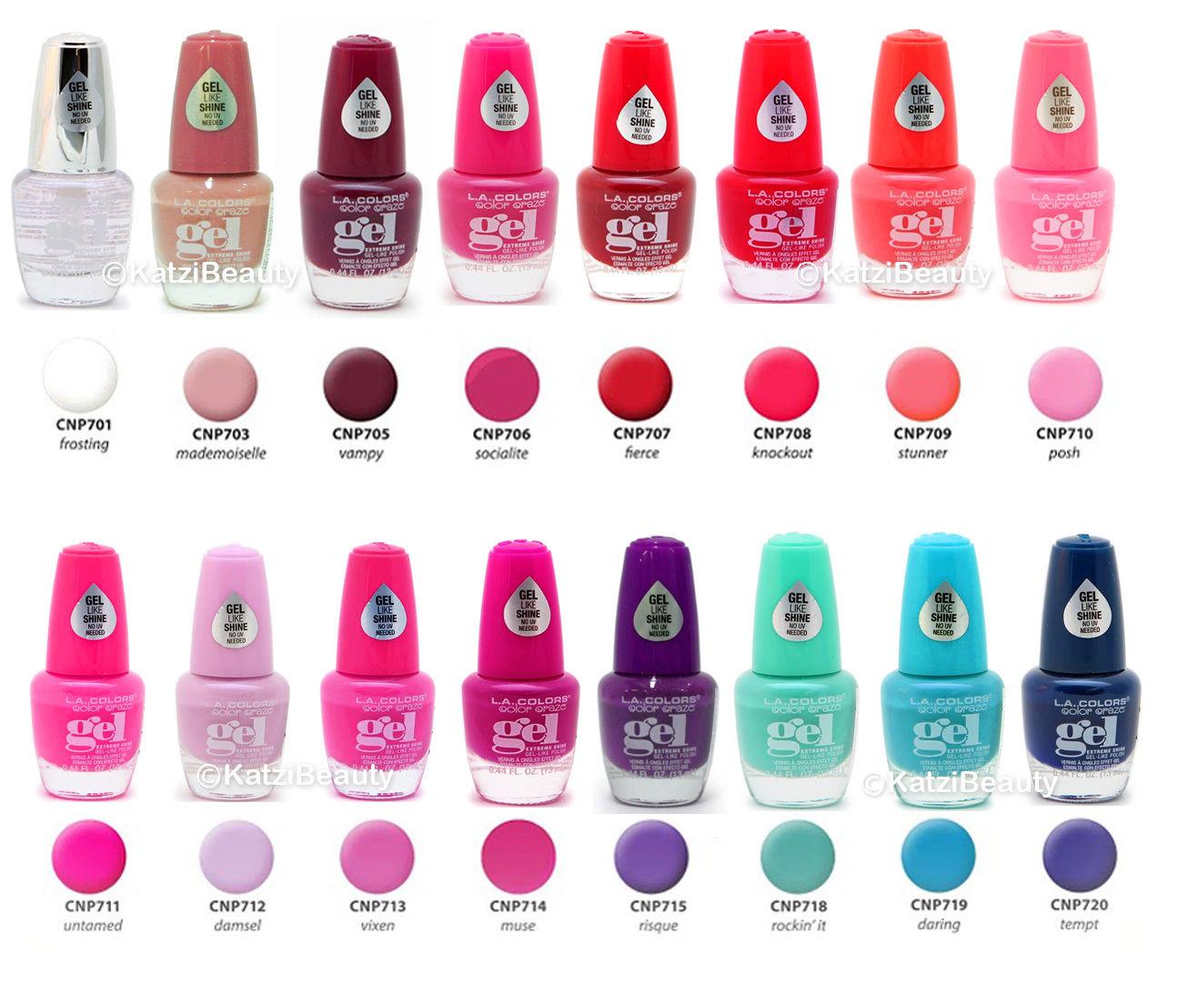 1 99 La Colors Color Craze Extreme Shine Gel Nail Polish Buy 3 Free U S Shipping Ebay Fashion La Colors Nail Polish Gel Nail Polish Remove Gel Polish