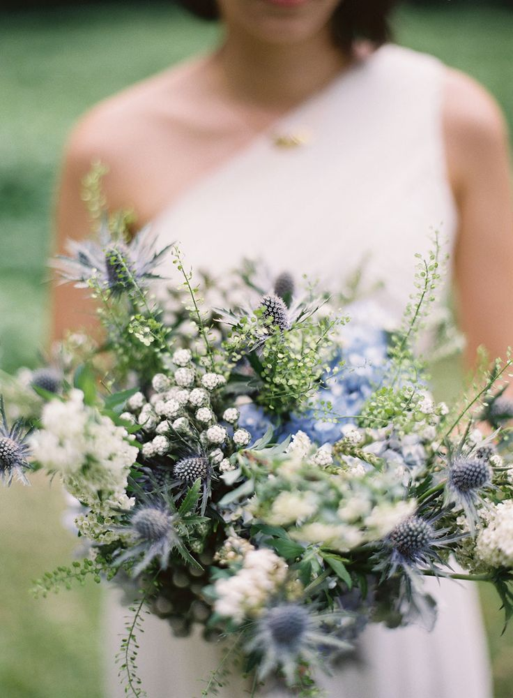 Soft Blue and Seafoam Inspiration Board | White wedding flowers ...