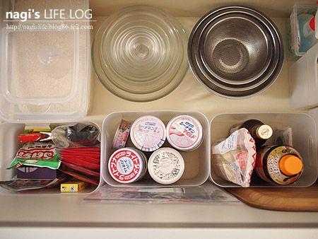 キッチンシンク下の収納 Nagi S Life Log シンク下の収納 シンク下 収納