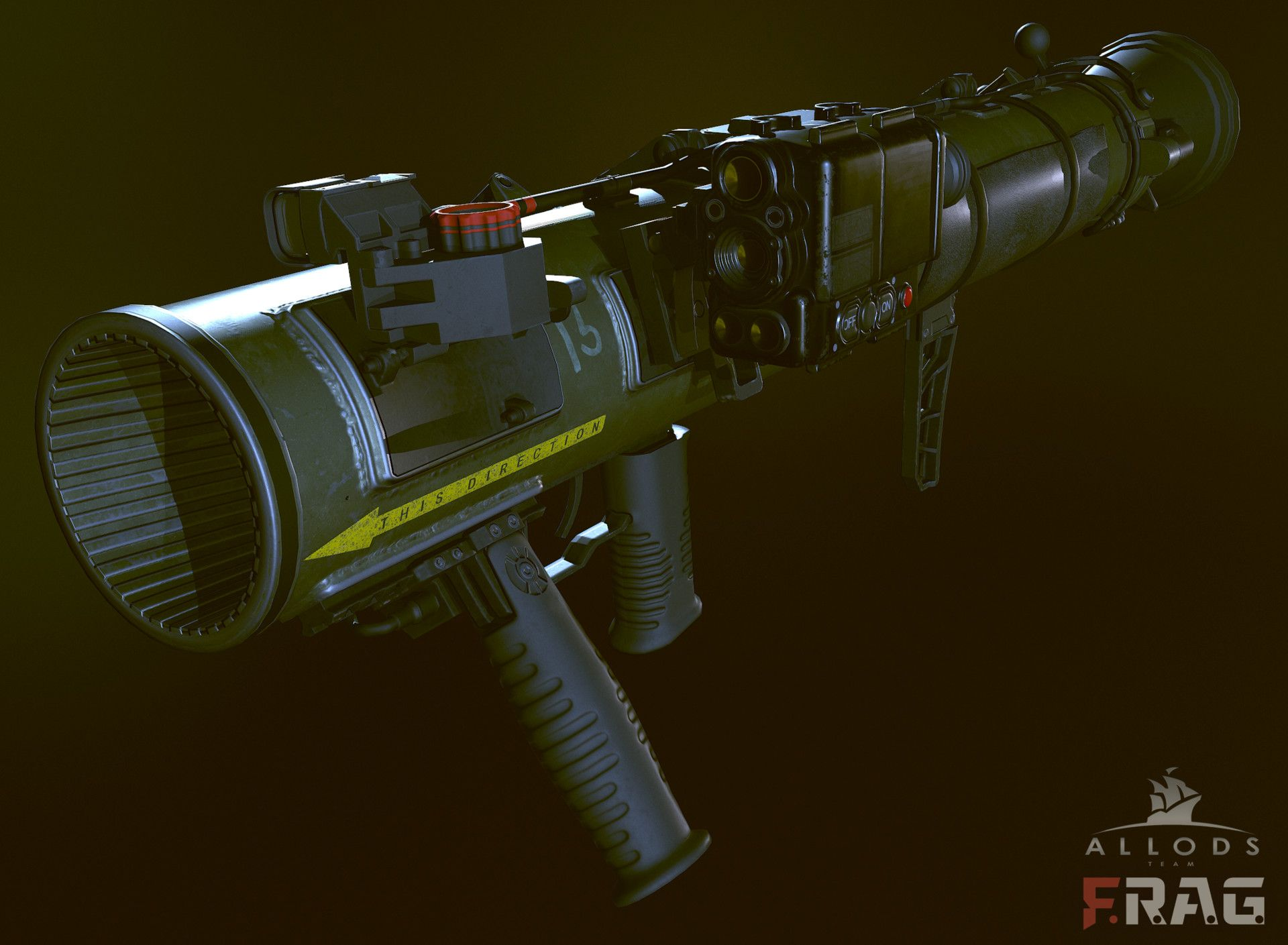 ArtStation - Carl Gustaf M4 ( weapon ), Mr. Ivan Tagirov