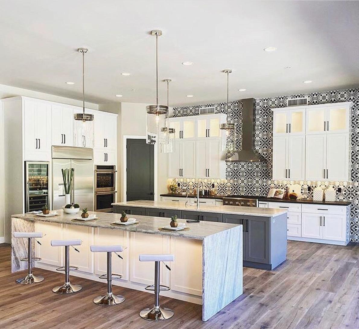 Double Island Kitchen In 2021 Kitchen Design Kitchen Inspirations Double Island Kitchen