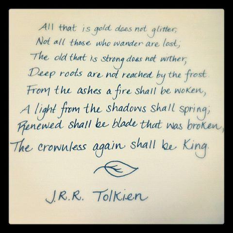 Lord Of The Rings Book Quotes Words Wise Words