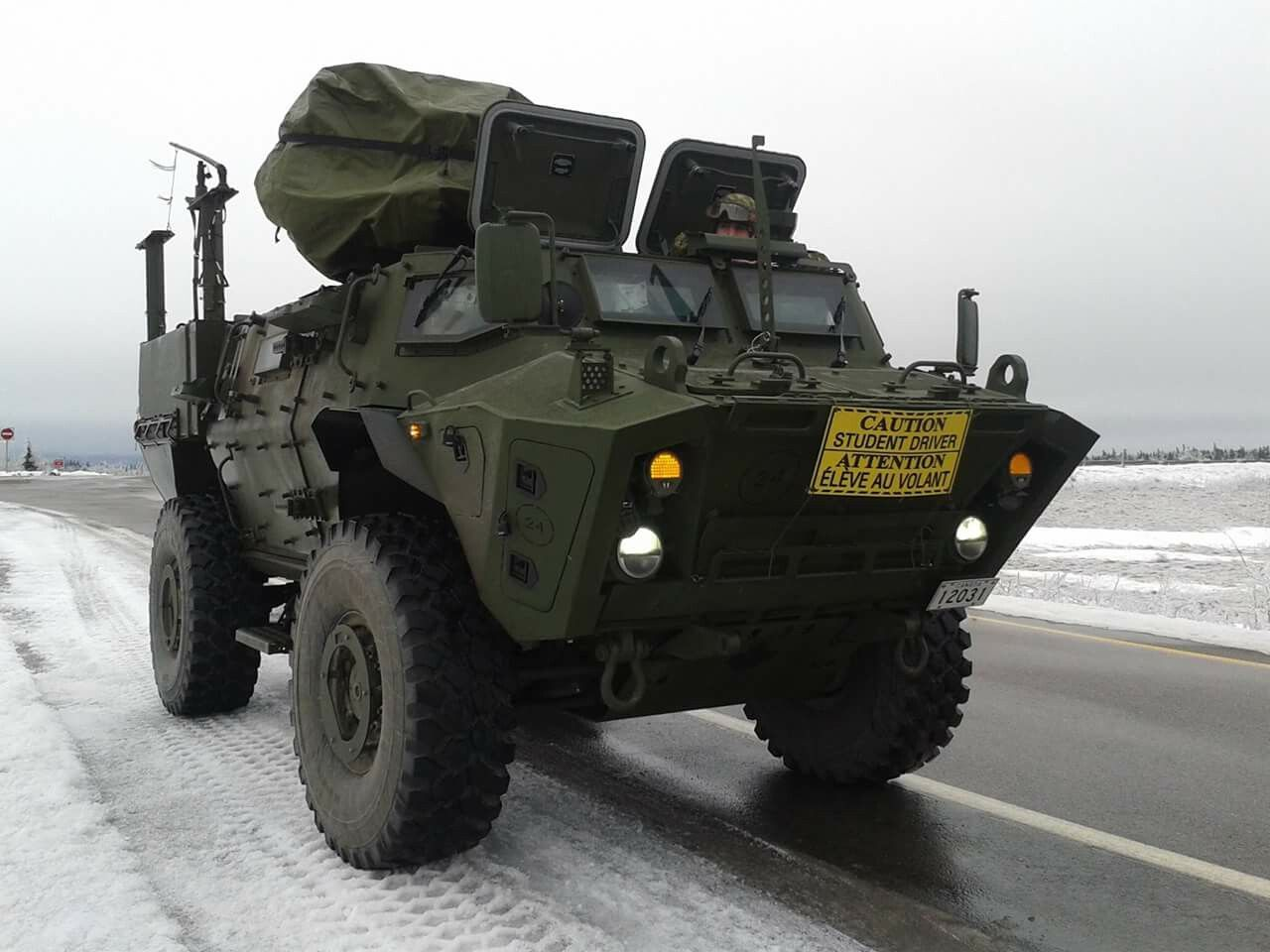 Canada s new tactical armoured patrol vehicle