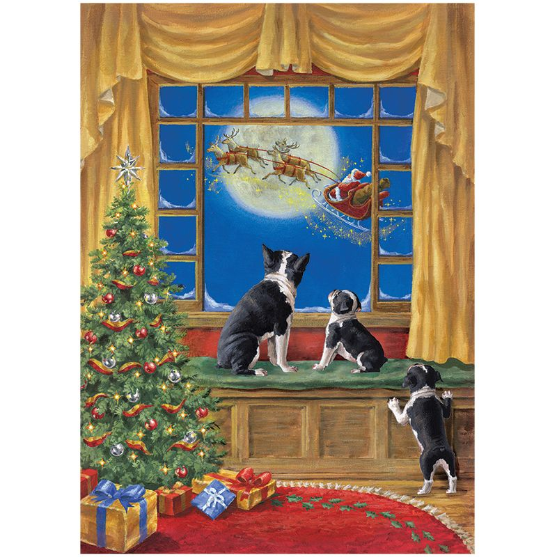 Boston Terrier Christmas Cards | Terrier and Christmas cards