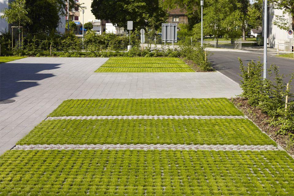 Carre D Arc Pav 233 233 Cologique Landscape Ideas Parking