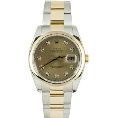 Rolex Mens New Style Heavy Band Stainless Steel & 18K Gold Datejust Model 116203 Oyster Band Smooth Bezel Champagne Diamond Dial: http://watches.cybermarket24.com/rolex-mens-new-style-heavy-band-stainless-steel-18k-gold-datejust-model-116203-oyster-band-smooth-bezel-champagne-diamond-dial/