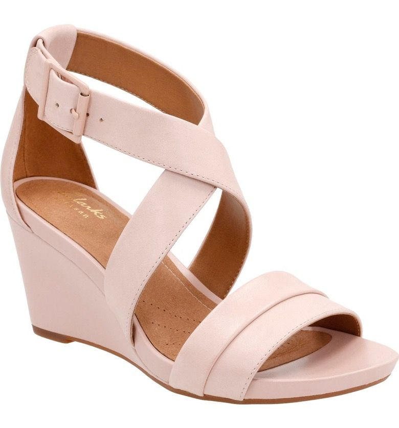 Clarks® Acina Newport Wedge Pump (Women) | Nordstrom