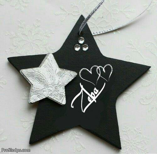 zeba decorative letters love