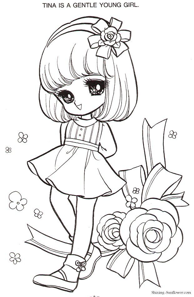 pattern  chibi coloring pages cute coloring pages