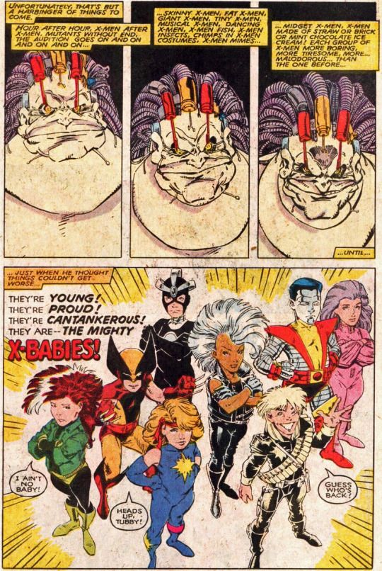Page 53 From The Uncanny X Men Annual 12 By Arthur Adams Bob Wiacek Glynis Oliver Chris Claremont And Tom Orzechowski Comic Art Comics Comic Book Covers