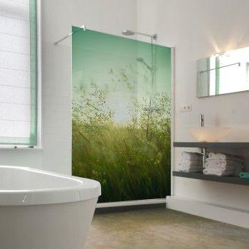 Idée déco N°10 – Décoration d\'un pare-douche avec un film pour ...