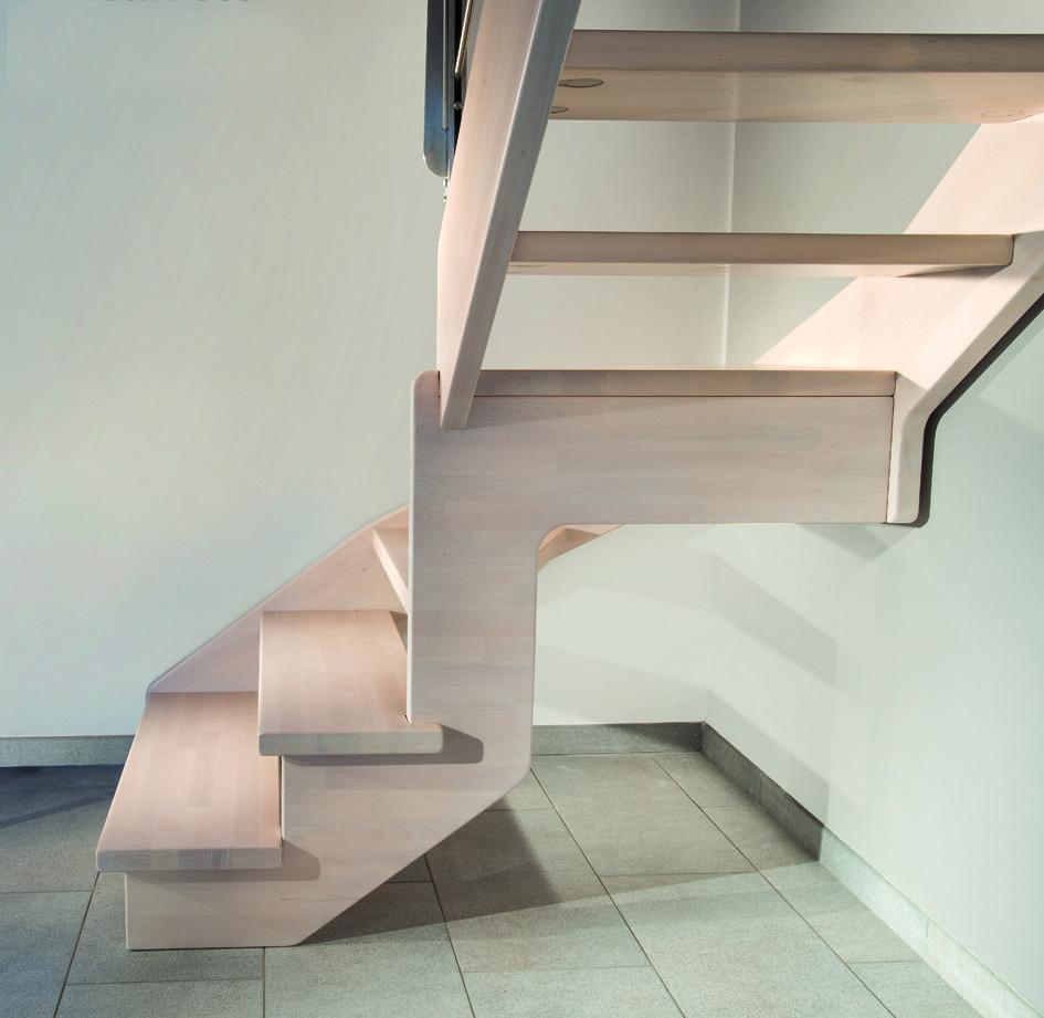 Escalier bois design FLO 130 | scari | Pinterest | Raumspartreppen ...