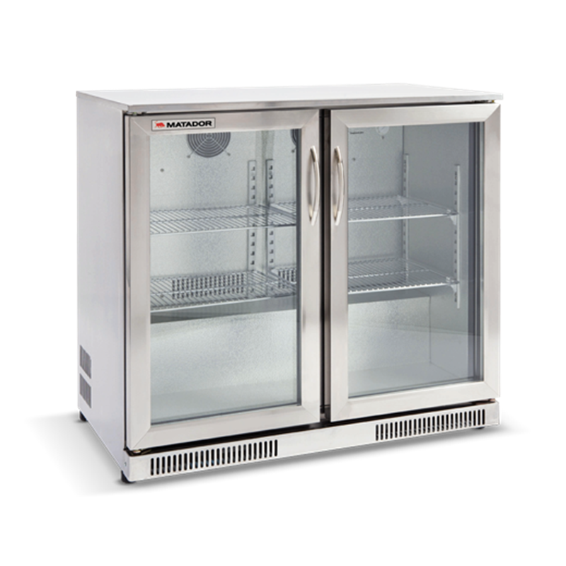 999 Matador 228l Stainless Steel Double Door Bar Fridge At Bunnings Warehouse Bar Fridges Stainless Steel Bar Steel Double Doors