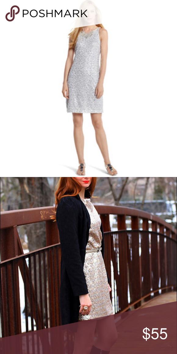 Host Pick Whbm Silver Sequin Dress My Posh Picks Pinterest