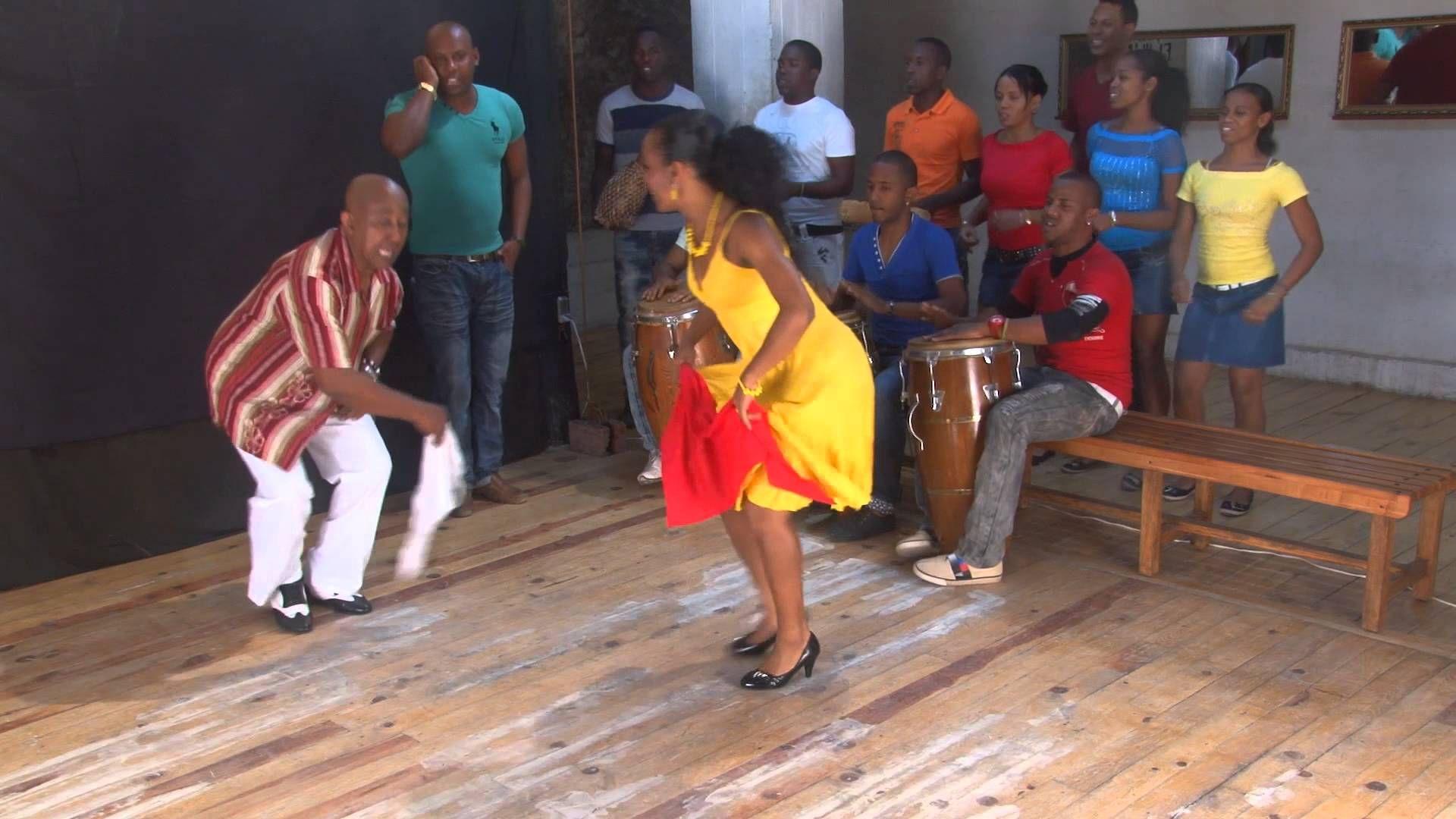 Rumba Guaguanco Dance Demo - Domingo Pau & Dayana Torres