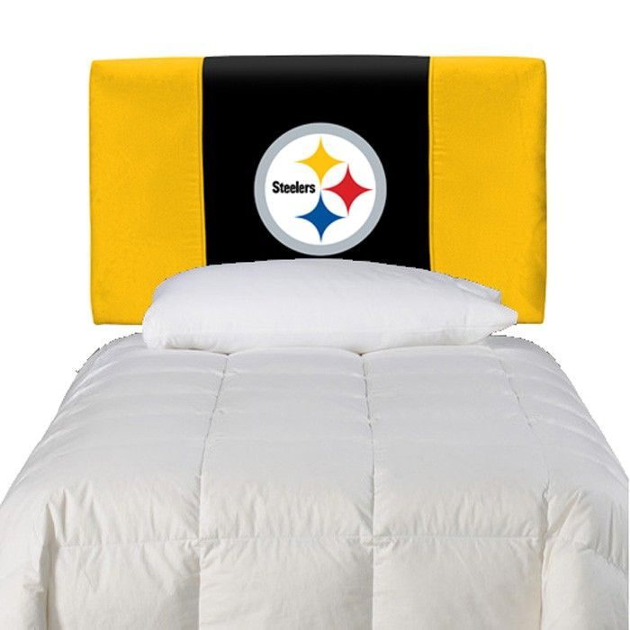 Pittsburgh Steelers Twin Upholstered Headboard