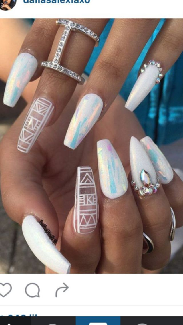 Pin de Stalinda Pickup-Bracken en Nails   Pinterest