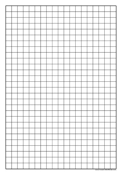 1cm square graph paper math best practices pinterest for Block graph template