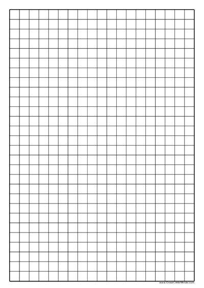 1cm square graph paper