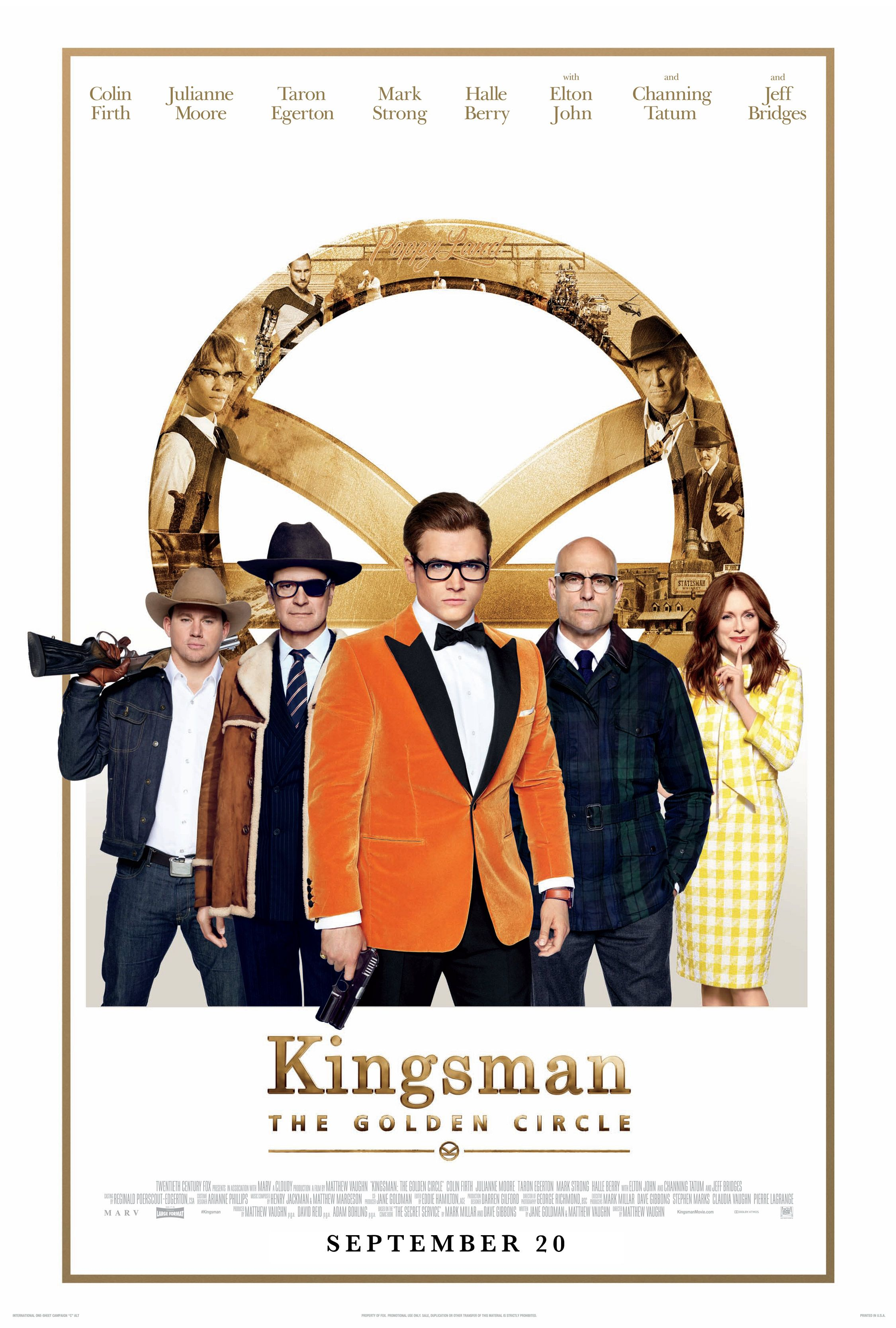 kingsman le cercle d'or streaming VF