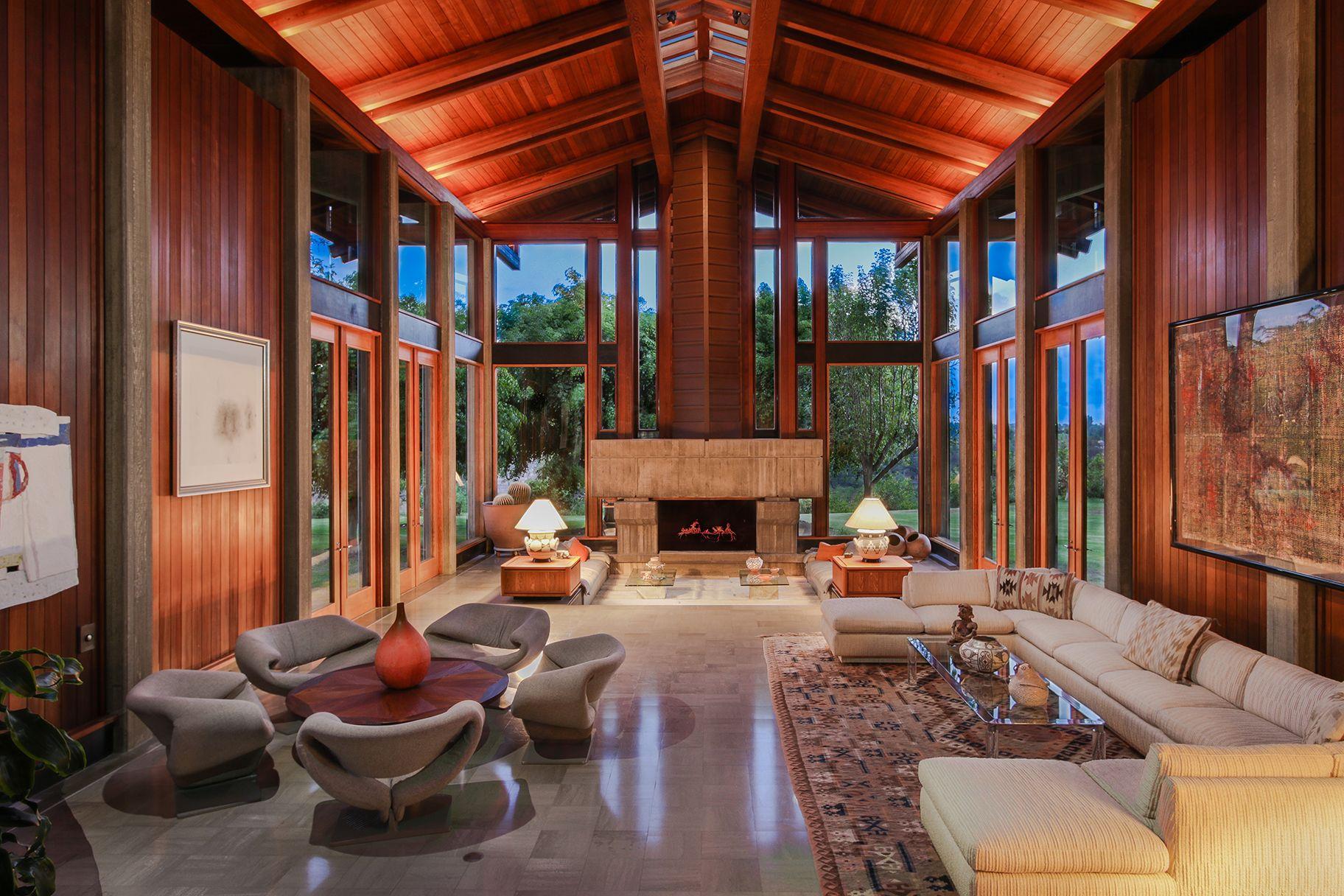 Del dios ranch stunning interiors designed by arthur