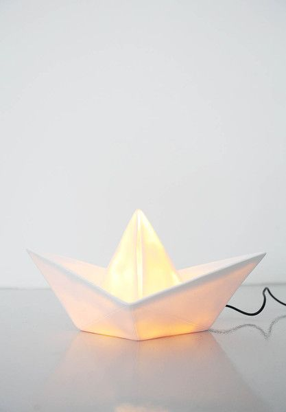 Paper Boat Lamp More