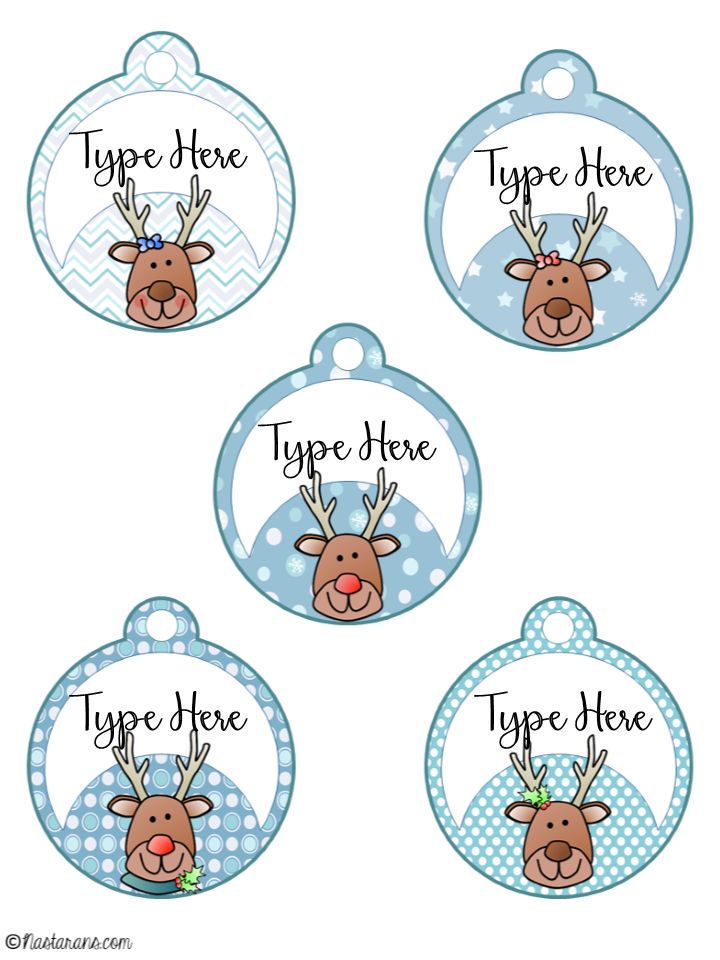 It is a graphic of Shocking Free Printable Editable Christmas Gift Tags