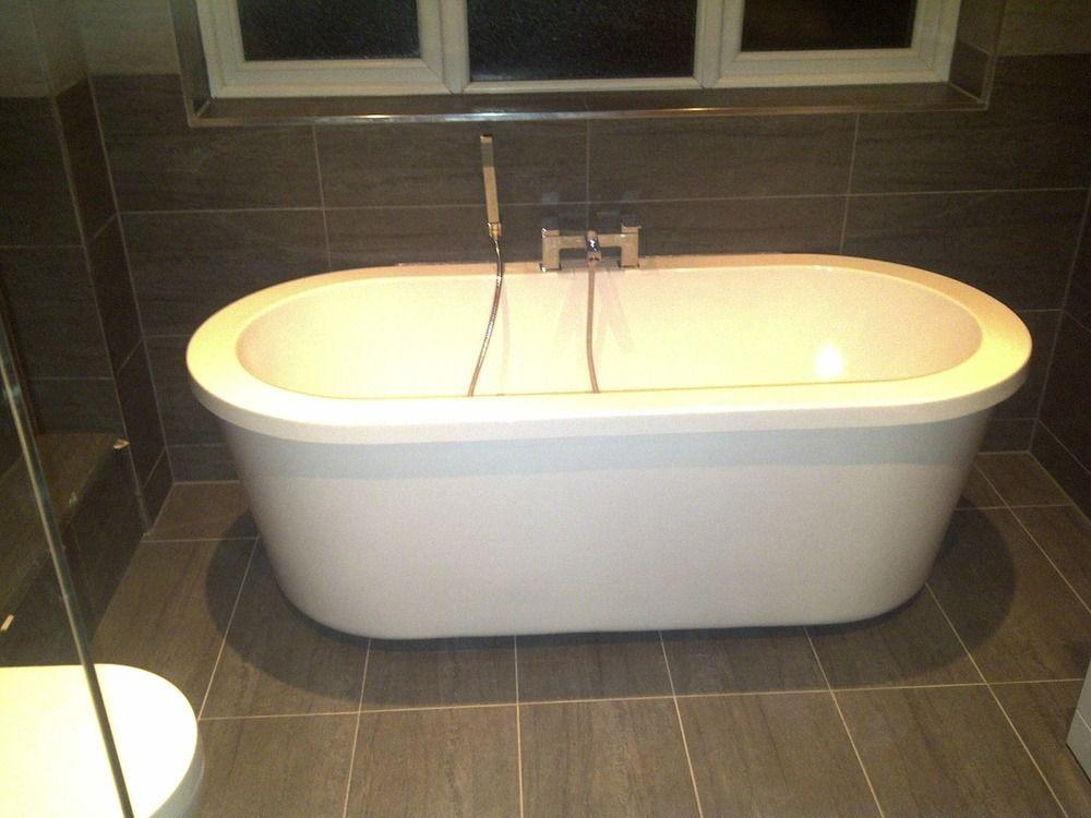 Freestanding bath installation - fitted by BBK Installations. Make ...
