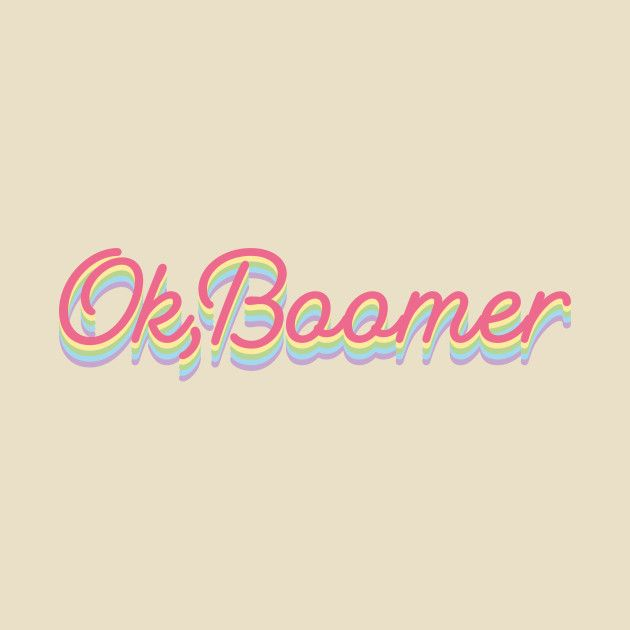 Check out this awesome 'Ok2C+Boomer++Pastel+Colors