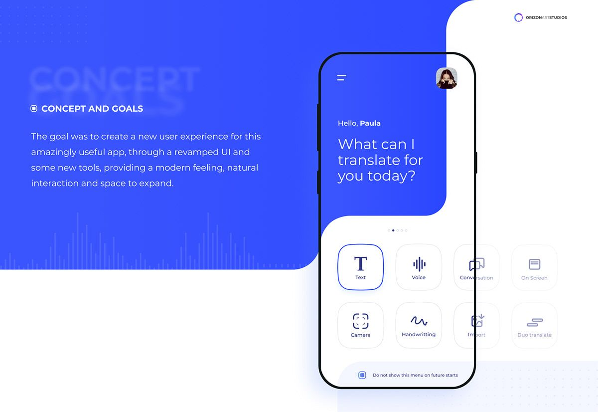 Google Translate   Concept app design Gallery