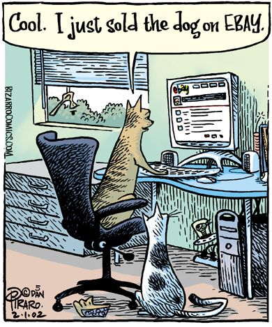 Lol.  My Cat Wishes He Was High Tech!
