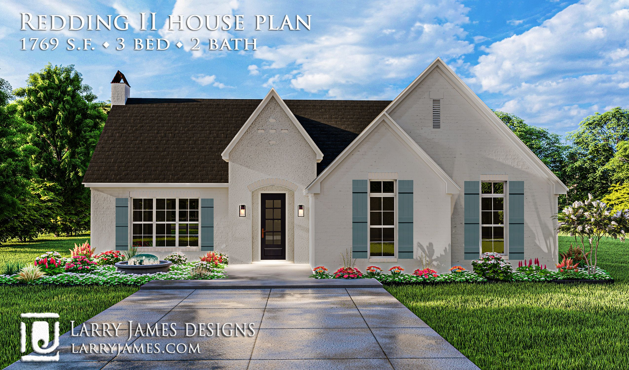 Redding Ii House Plan 20011 Cottage Style House Plans Country Style House Plans Cottage House Plans